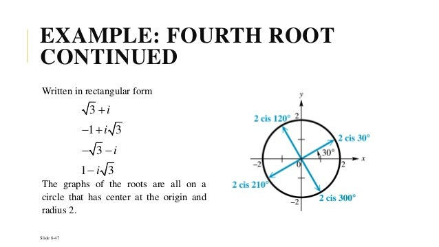 1 Introduction To Complex Numbers