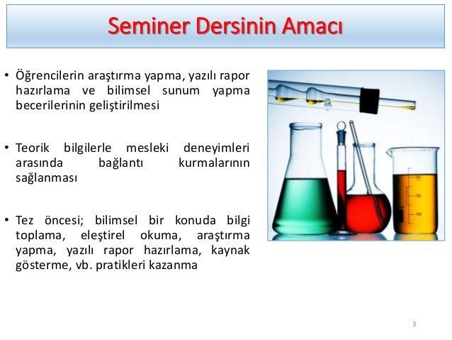 Seminer dersi Slide 3