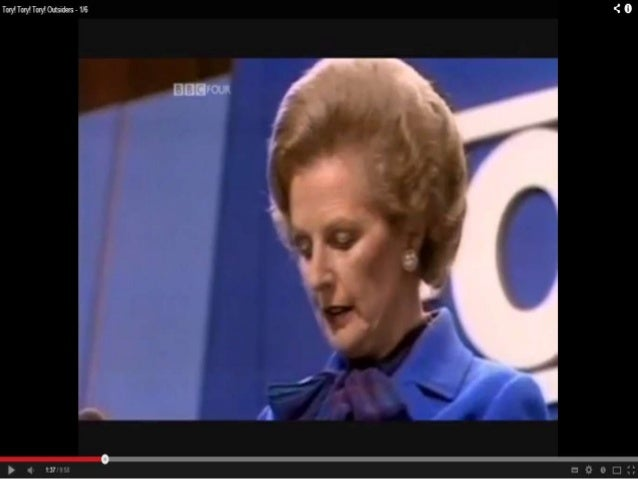 one nation vs thatcherism Baroness thatcher, who has died aged 87, presided over one of the greatest transformations of the nation's economy as prime minister the woman born as.