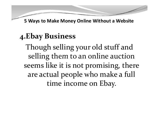 ways to make money today