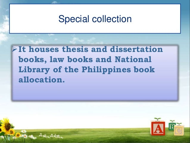 foreign literature thesis library system