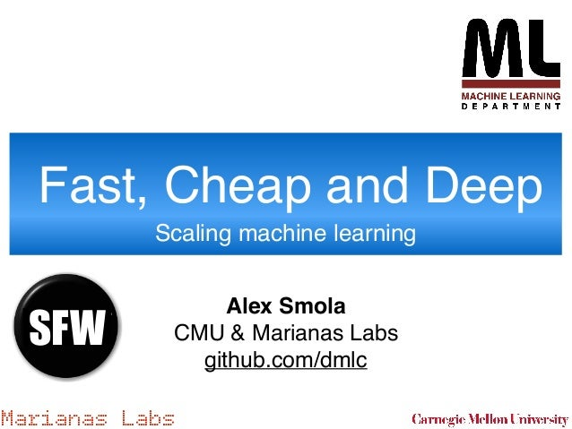 Alex Smola, Professor in the Machine Learning Department