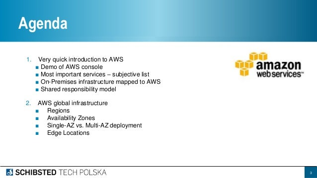 AWS Services overview and global infrastructure