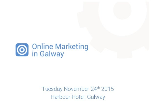 Tuesday November 24th 2015 Harbour Hotel, Galway