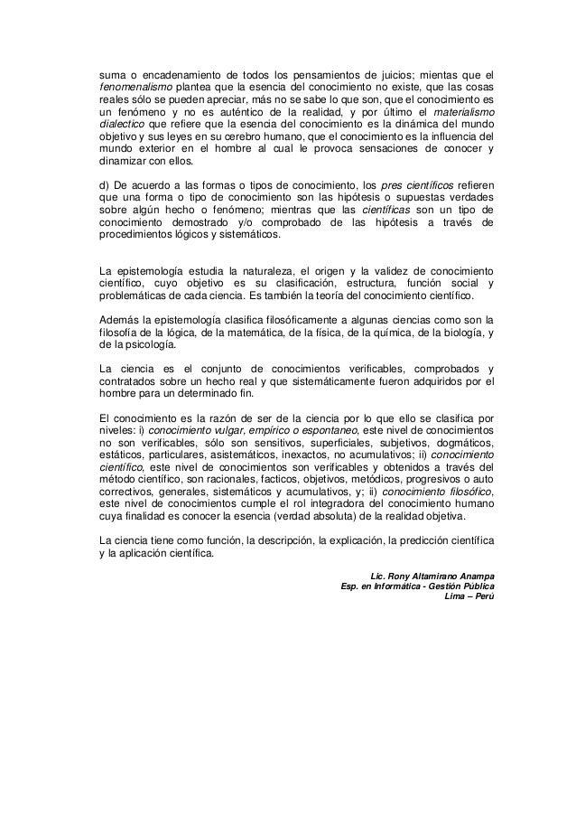 1. gnoseología y epistemología Slide 2