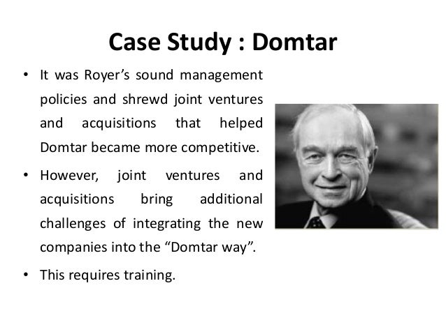 domtar case study