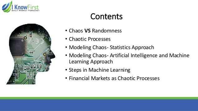 machine learning stock market