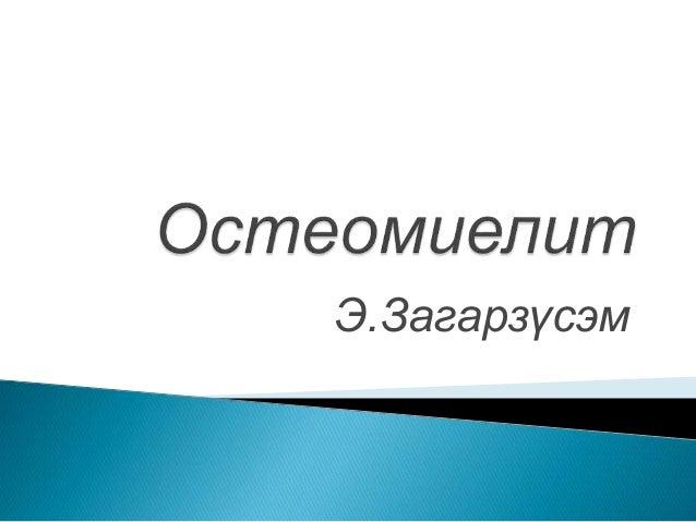 Э.Загарзүсэм