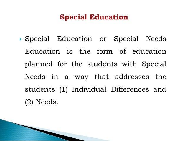 1. special education Slide 2