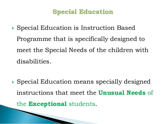 1. special education Slide 3