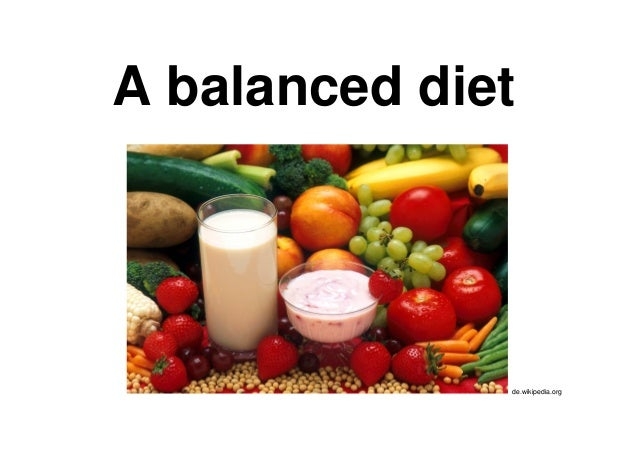 A balanced diet de.wikipedia.org