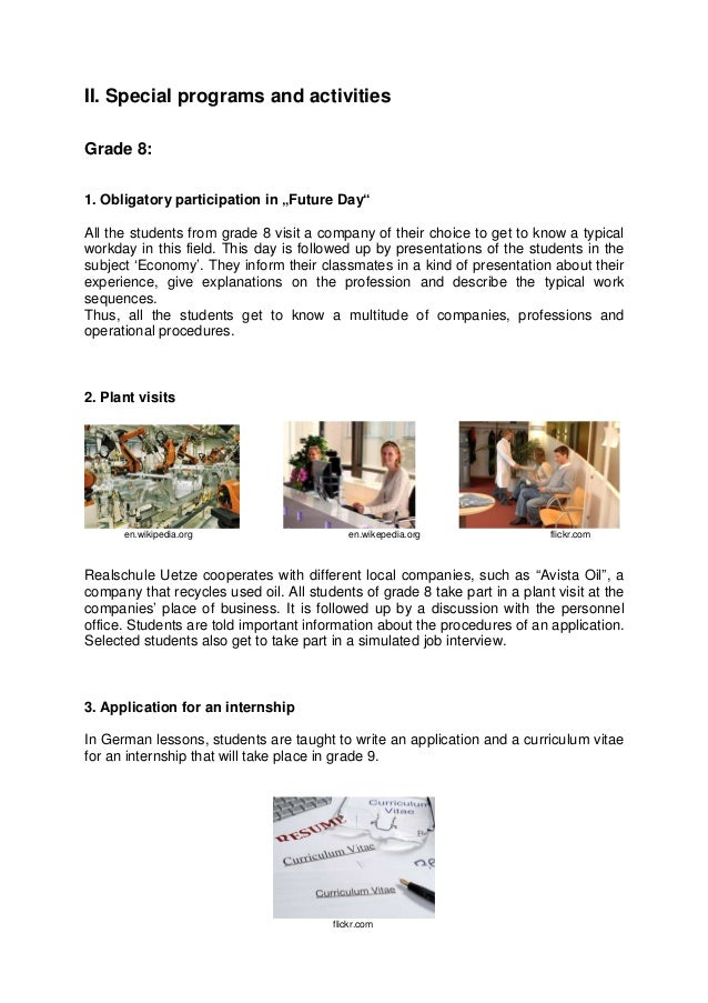 1.3.3 Preparation for the working career Slide 2