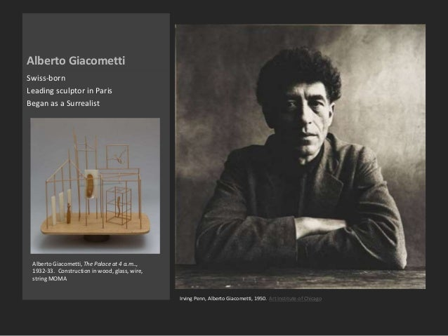 Some Writings On Giacometti & Looking