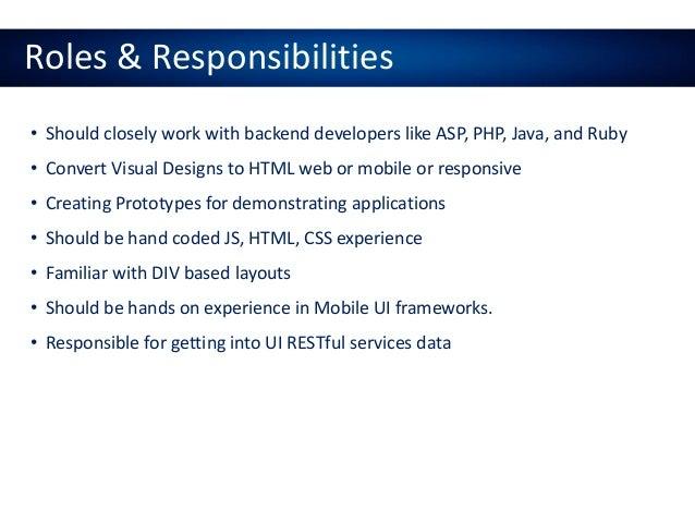 Angular JS - UI Development Online Training