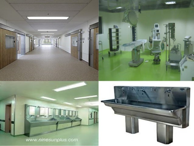 Hospital design.