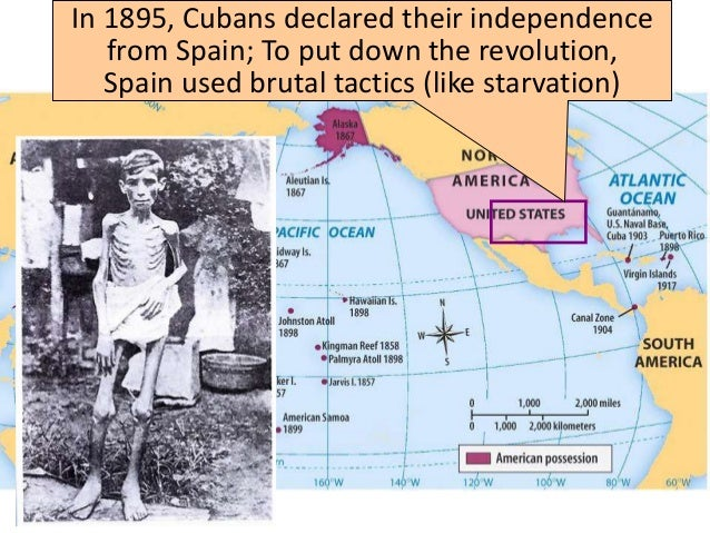 the features of the war of independence 1895 1898 The spanish-american war announced america's arrival on the world stage the treaty of paris ending the war was signed (december 10) spain granted cuba independence (december 1898) the spanish american war ended.