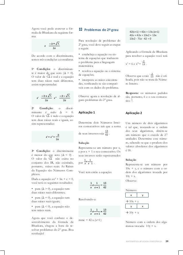 1.matemática básica 01 senai