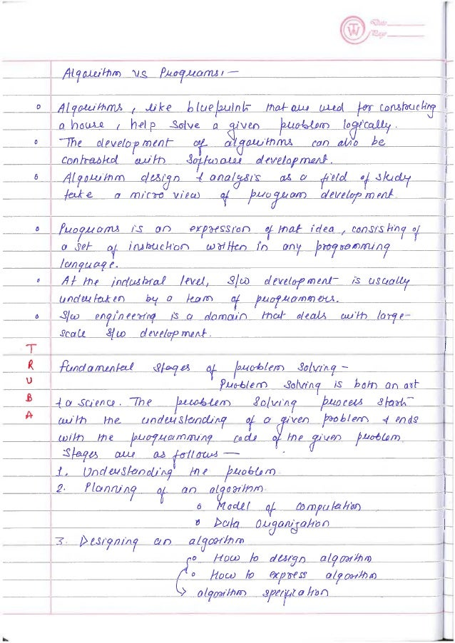 Data Structure Notes Part-1