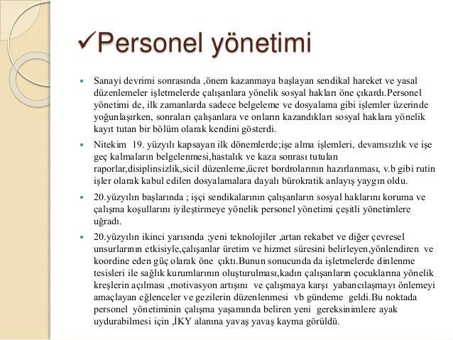 Personel yönetiminin sosyo-psikolojik yöntemleri