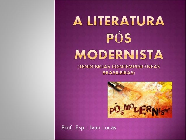 Prof. Esp.: Ivan Lucas