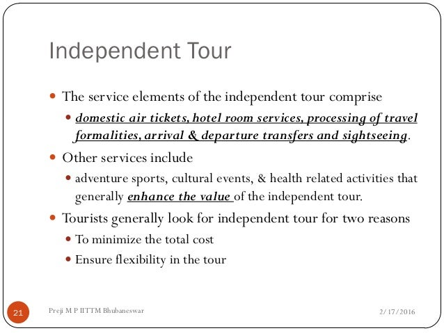 tour operation management Tour operation management task 1 understand the tour operator industry within the travel an tourism sector tour operator is a person or company who purchases the different items that make up an inclusive holiday in bulk, combines them together to produce package holiday and then sell the final product to the public.