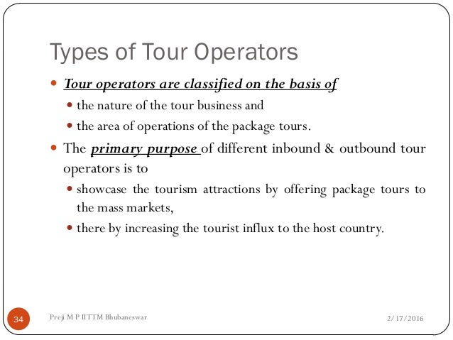 what is an independent tour operator