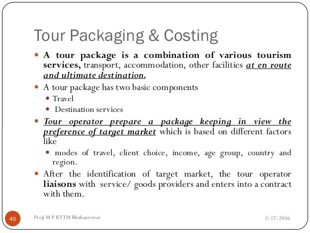 stages involved in developing package holidays These regulations implement council directive 90/314/eec on package travel, package holidays, and package tours (oj no l158, 13 june 1990, p59.