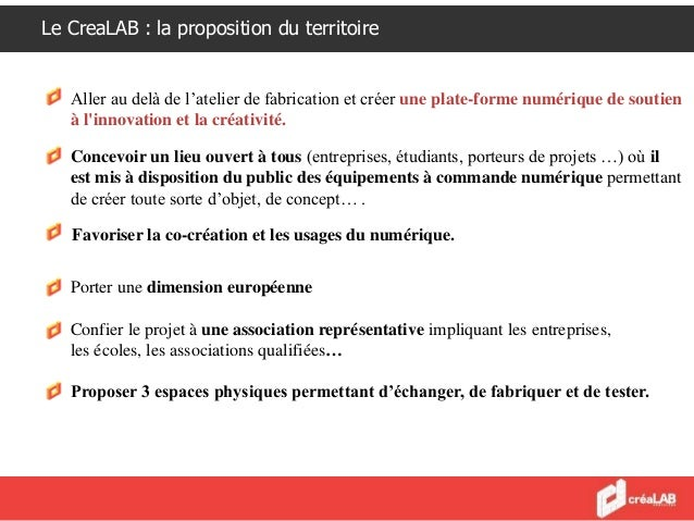 Créalab - Grand Angoulême Slide 2