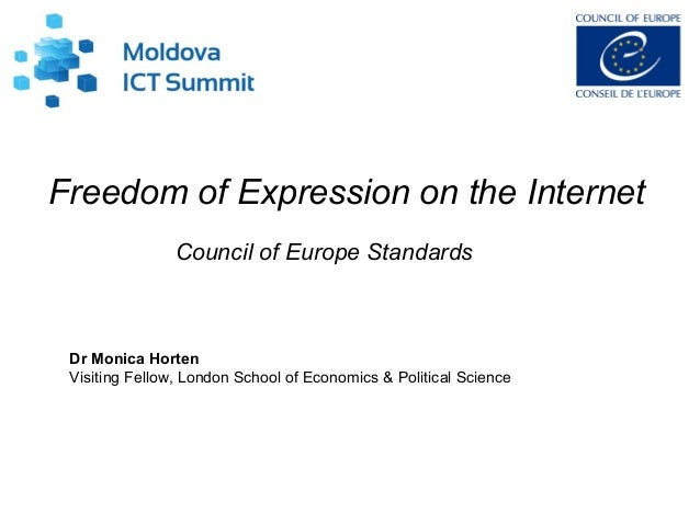 Freedom of expression on the internet
