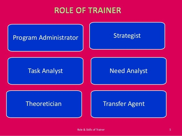 role of a trainer Trainers can achieve engagement in many ways, from encouraging participation to sharing personal experiences and interactive activities how the trainer encourages engagement is very important, but we can't lose sight of the value this type of engagement brings to each training intervention first.