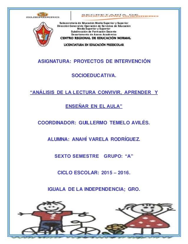 Subsecretaría de Educación Media Superior y Superior Dirección General de Operación de Servicios de Educación Media Superi...