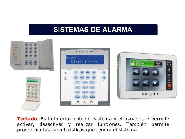 De alarma for Sistema de alarma