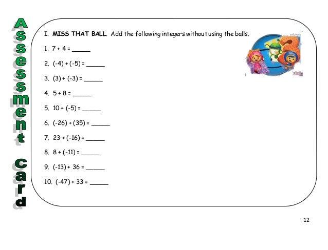 Strategic Intervention Material in Mathematics Grade 7