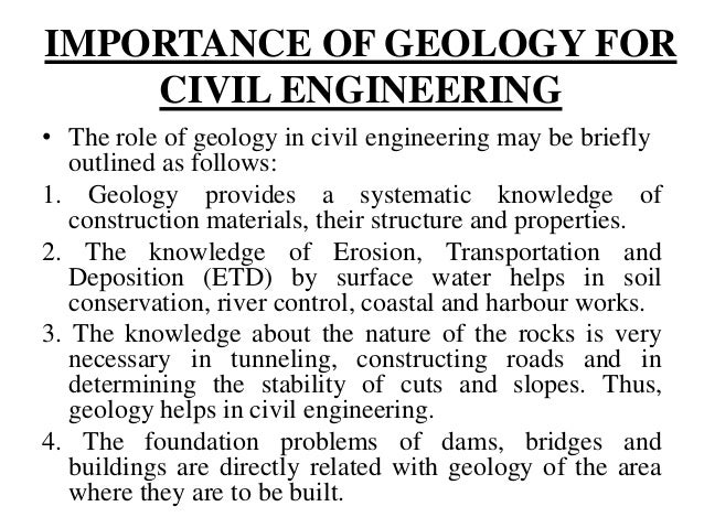 1.1 introduction of geology,Branches and Scope of Geology