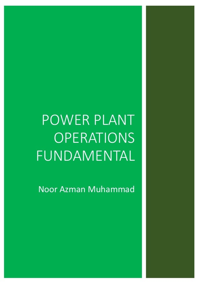 Unit Chemical Cycle Theory Steam Plant Operations Book 1