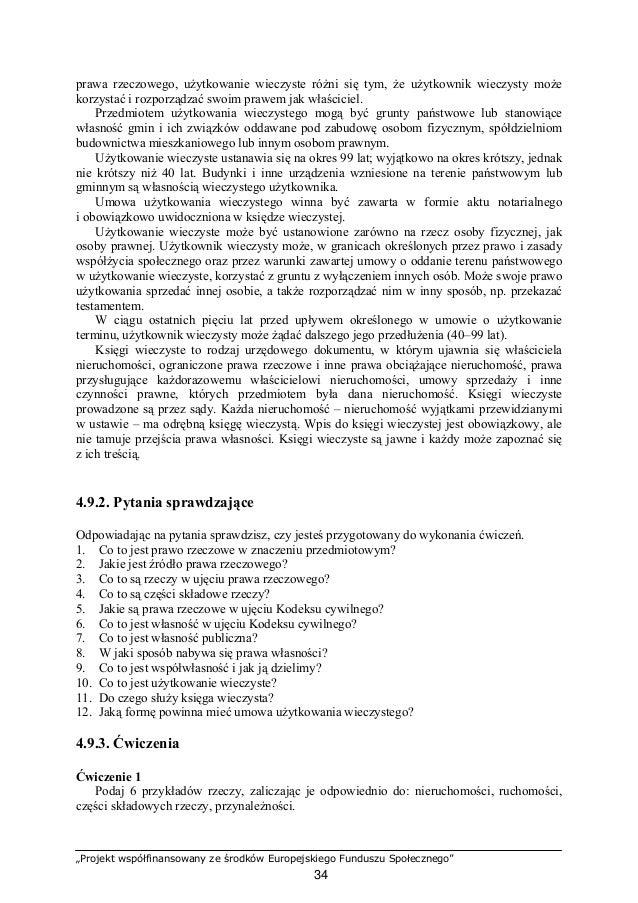 """""""Projekt współfinansowany ze środków Europejskiego Funduszu Społecznego"""" 35 Lp. Wyszczególnione rzeczy Rodzaj rzeczy 1 2 3..."""