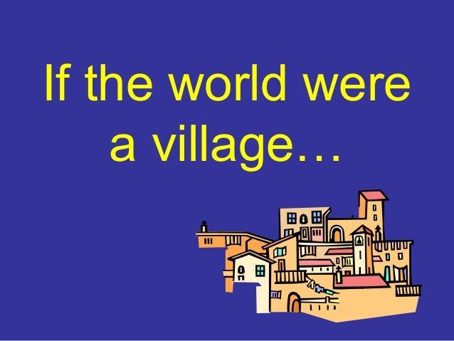 if the world were a village pdf