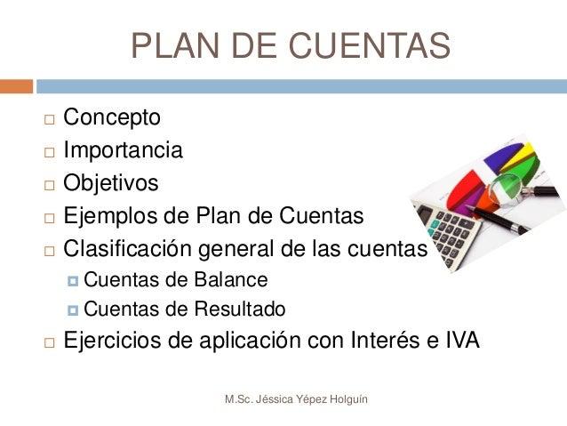 plan de cuentas contabilidad definicion