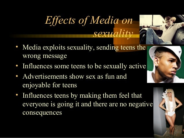 Media influence teen sex rates