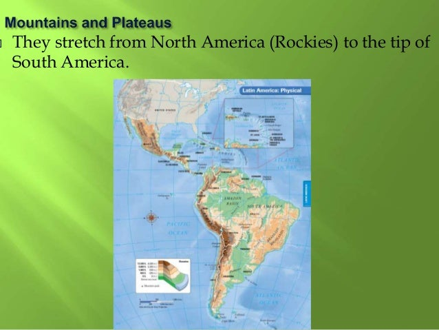 Physical Geography Latin America - Us physical geography map