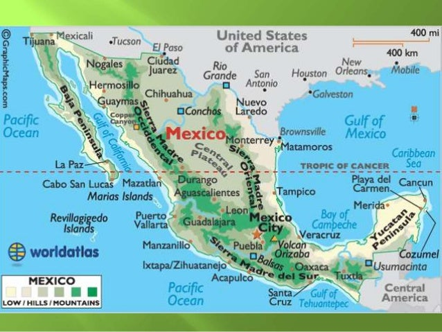 Physical Geography Latin America