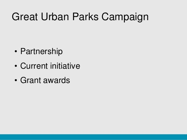 the role of urban parks for His words ring true for cities across the country who increasingly see parks as   kathy blaha writes about parks and other urban green spaces, and the role of.