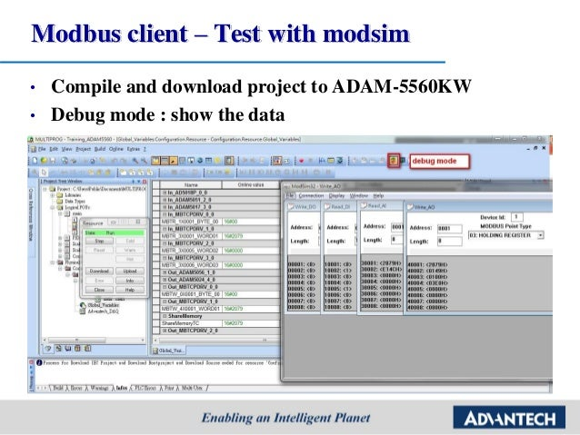 Advantech] PAC SW Multiprog Tutorial step by step