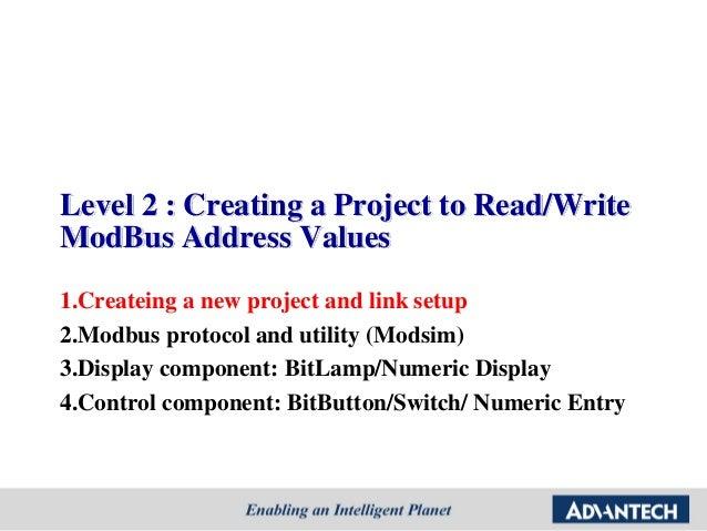 Advantech] WebOP designer Tutorial step by step