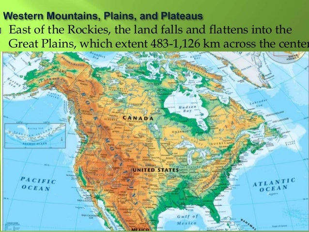 Geography North America