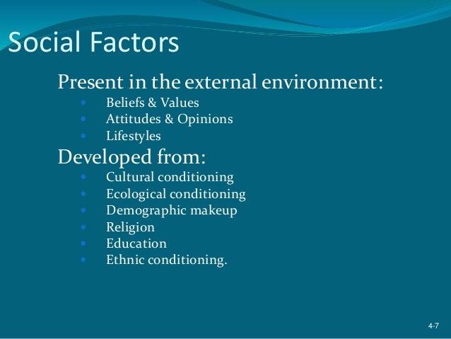 discuss how the external environment influences Analysis of the external environment industry environment 3 discuss the four activities of the •industry environment focused on factors and conditions.