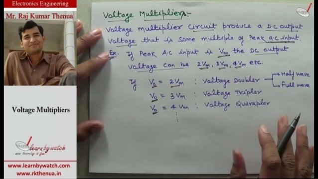 1.2.18 voltage multiplier