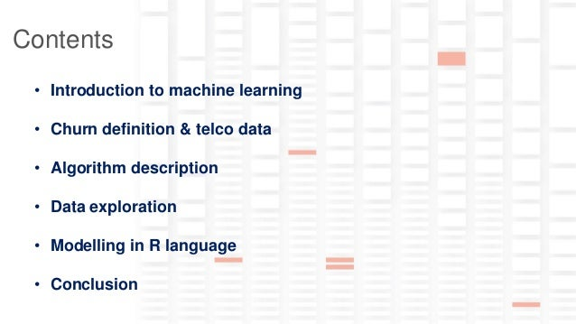 Predicting churn in telco industry: machine learning