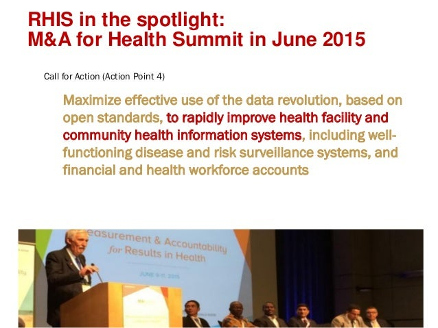 Strengthening Routine Health Information Systems through Regional Networks Slide 2