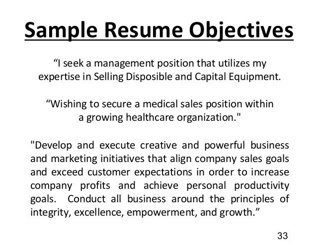 32 33 sample resume objectives medical sales resume objective